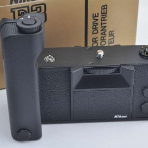 Nikon Motor MD-4 für Nikon F3 analog fotografieren