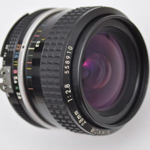 Nikon Nikkor 28mm 2.8 AI - manuelles Objektiv TOP Bildqualität