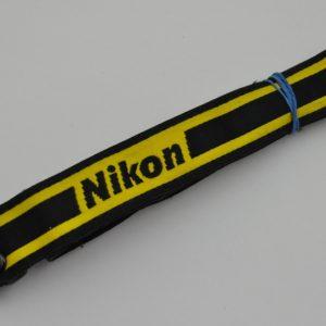 Nikon Schulterriemen schmal - geringste Gebrauchsspuren - Zustand A/A+