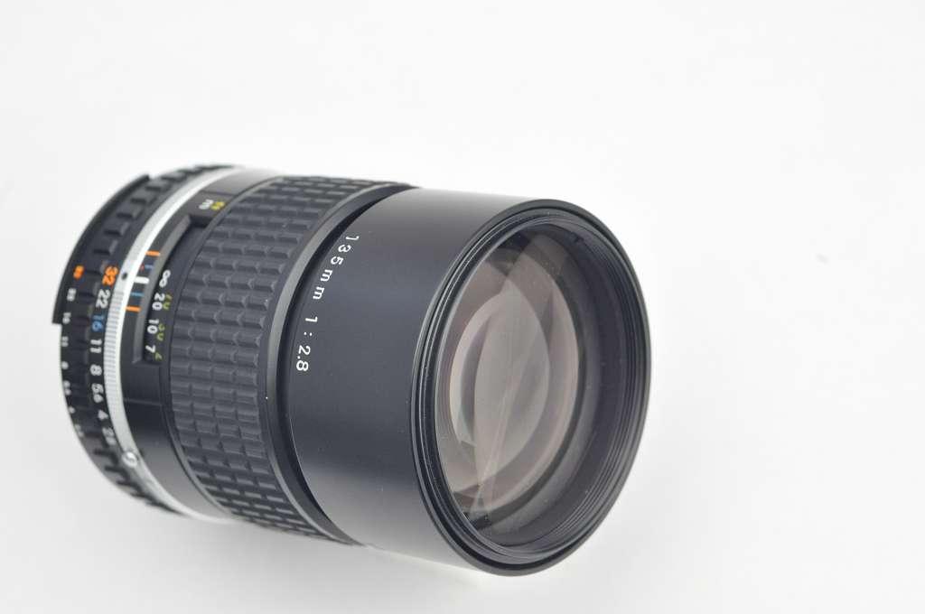 Nikon 135mm Serie E 2.8 AIS herausragende Bildqualität Zustand A/A+