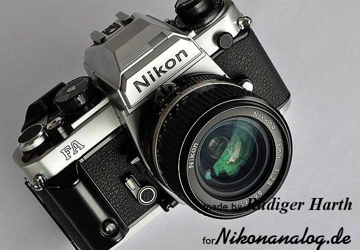 Die Nikon FA mit 100mm Serie E AIS Objektiv 2.8 - Beratung - Verkauf - Kauf - Workshops nikonanalog.de