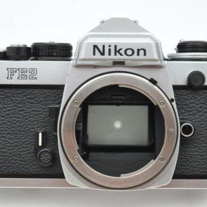 Nikon FE2 silber Zustand A Lichtdichtungen-Dämpfer-Okular sind neu