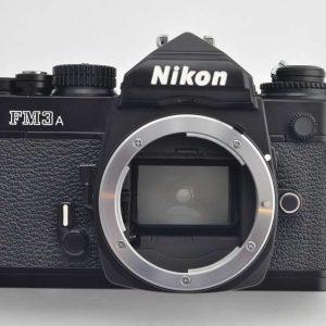 Nikon FM3A - Zustand A/A+ mit Bedienungsanleitung