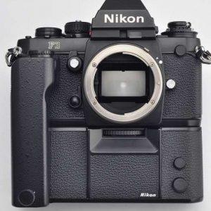 Nikon Kameraset F3 mit MD-4 Zustand TOP - Nikon Kameraset F3