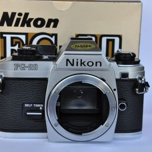 Nikon FG-20 in OVP - TOP