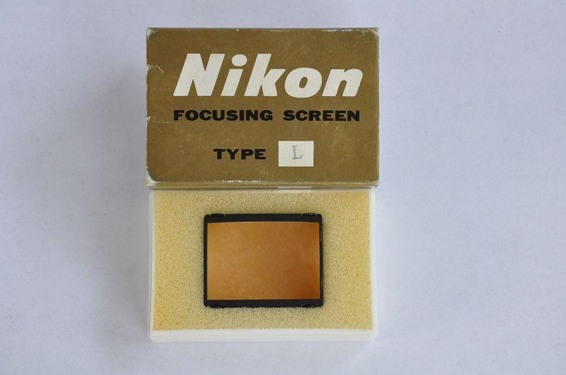 Nikon F/F2 Einstellscheibe Type L Zustand A+