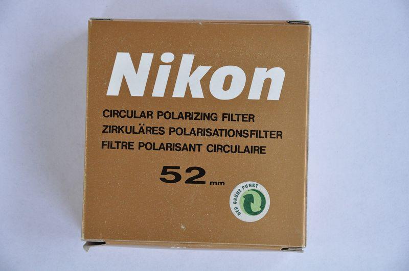 Nikon Filter 52mm Zirkulärer Polarisationsfilter im Zustand
