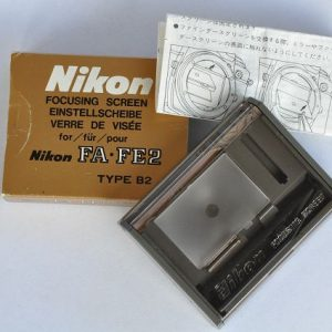 Nikon FA/FE2 Einstellscheibe Type B2