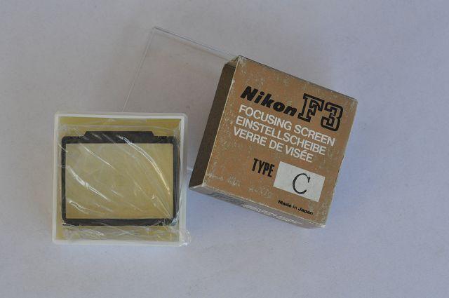 Nikon F3 Einstellscheibe Type C in OVP