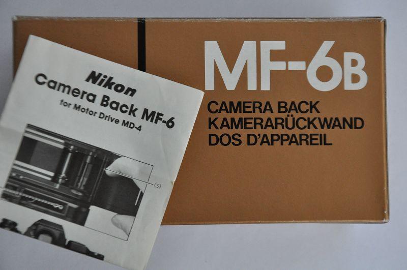 Nikon Kamerarückwand MF-6B ist im Zustand A