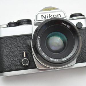 Nikon FE Kameraset mit 50mm 2.0 AI - leicht - robust -TOP