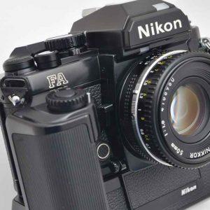 Nikon FA Kameraset - MD-15 -50mm 1.8 AIS-Multiautomat-Matrixmessung