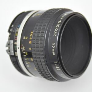 Nikon Micro Nikkor 55mm 3.5 AI - brillante Bildschärfe