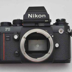 Nikon F3 HP - geringste Abnutzungsspuren - Zustand A/A+ Lichtdichtungen, Dämpfer und Okular sind neu