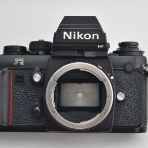 Nikon F3 HP - geringe Abnutzungsspuren - technisch perfekt