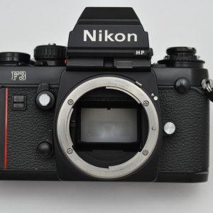 Nikon F3 HP mit MF-14 - geringe Abnutzungsspuren - Zustand A-/A Lichtdichtungen, Dämpfer und Okular sind neu