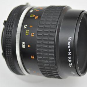 Nikon Micro Nikkor 55mm 2.8 - AIS - Zustand A TOP