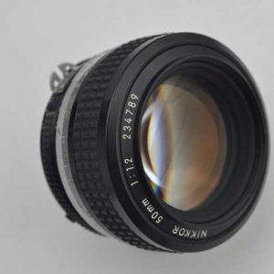 Nikon Nikkor 50mm 1.2 AI optisch herausragend - sehr schönes Bokeh