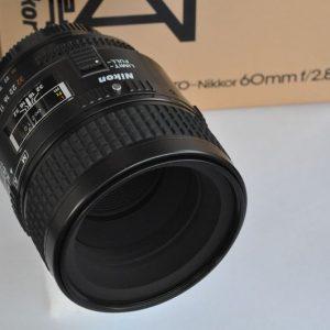 Nikon Micro Nikkor 60mm 2.8 AF TOP