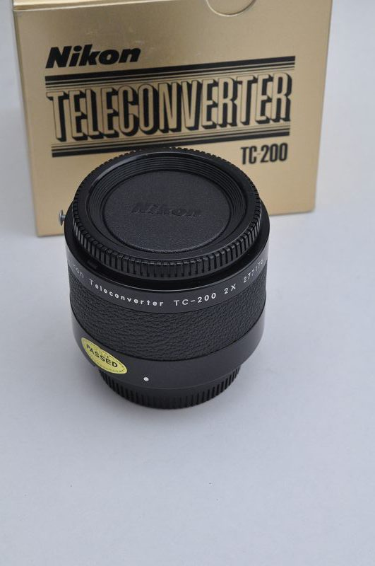 Nikon TC 200 Telekonverter für AI/AIS Objektive Top