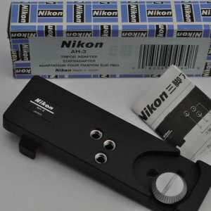 Nikon Tripod Adapter AH-3 Zustand A/A+ in OVP mit Bedienungsanleitung