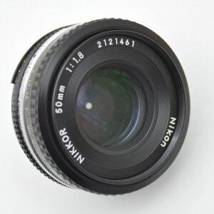 Nikon Pancake 50mm AIS aus der 20ziger Serie