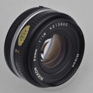 Nikon Nikkor 50mm 1.8 AIS - Pancake Zustand A/A+Top Bildqualität