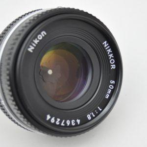 Nikon Nikkor 50mm 1.8 AIS - Pancake Zustand A Top Bildqualität