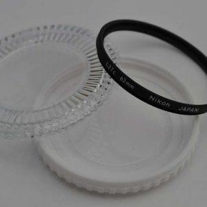 Nikon Filter 62mm L37c ohne Kratzer Zustand A/A+. Schutz für Frontlinse