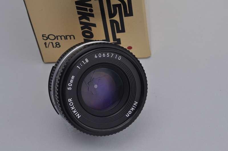 Nikon Nikkor 50mm 1.8 AIS - Pancake Objektiv Zustand A+Top Bildqualität