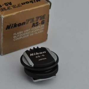 Nikon Blitzadapter AS-6 für die Nikon FE/FM - Zustand A/A+