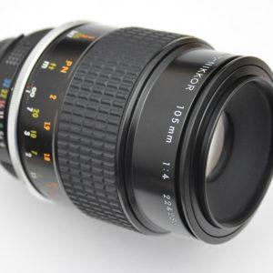 Nikon Micro Nikkor 105mm 4.0 AI Objektiv absolut scharf - keine CAs