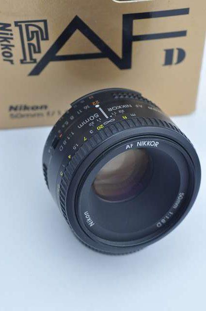 """Nikon Nikkor 50mm 1.8 D AF Objektiv - """"Schärfewunder"""" für kleinen Preis"""