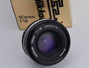 Nikon 50mm Pancake 1.8 AIS