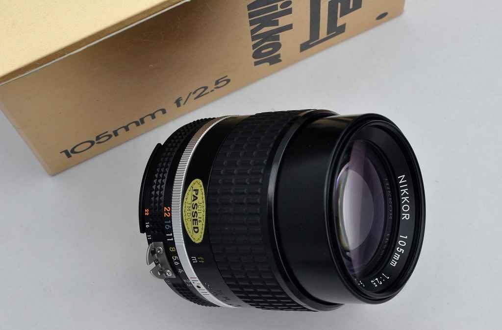 Nikon Nikkor 105mm 2.5 AIS