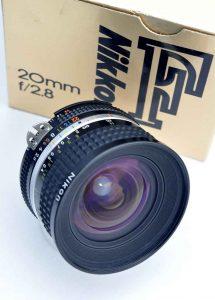 Nikon Nikkor 20mm 2.8 AIS