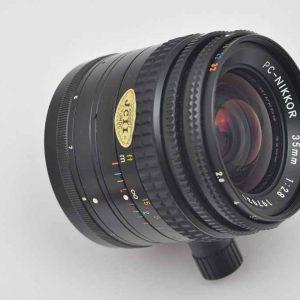 Nikon PC- Nikkor 35mm 2.8 AI beste mechanische Verarbeitung