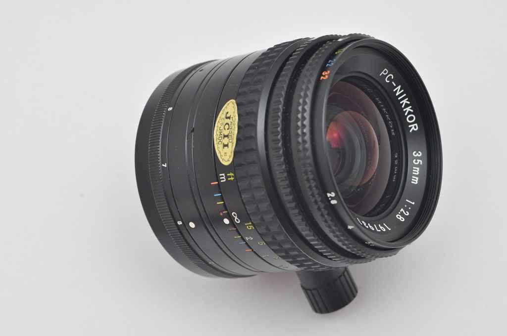 Nikon PC- Nikkor 35mm 2.8 NON-AI beste mechanische Verarbeitung