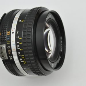 Nikon 20mm 3.5 AIS - schon ab Blende 3.5 im Zentrum extrem scharf