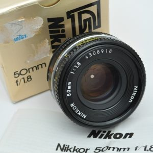 Nikon 50mm 1.8 AIS Pancake - keine Vignettierung -minimalste Verzerrung
