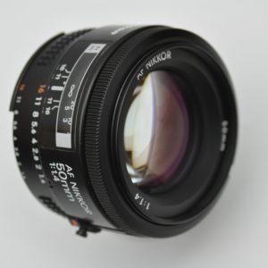 Nikon Nikkor 50mm 1.4 AF erzeugt überragende angenehme Schärfe mit wunderschönen Bokeh