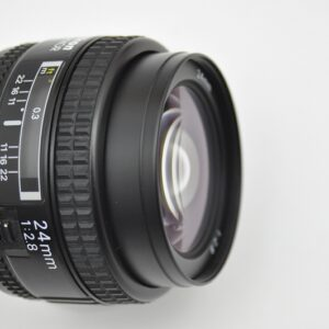Nikon AF 24mm extrem scharfes Objektiv ohne Verzerrung