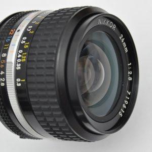 Nikon Nikkor 24mm 2.8 AIS sehr scharfes Objektiv - so gut wie keine CAs