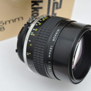 Nikon Nikkor 105mm 1.8 AIS - schon bei maximaler Öffnung brillant scharf
