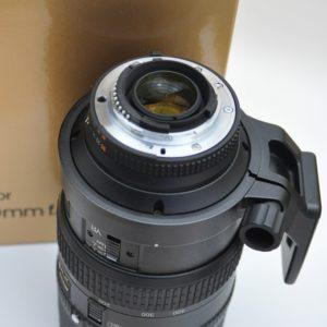 Nikon Nikkor AF 80-400mm VR ideales Allroundzoom 80-400mm mit sehr guter Bildschärfe und absolut perfekter Haptik