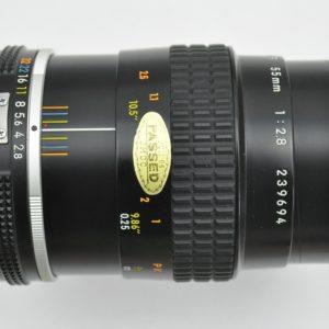 Nikon Micro Nikkor 55mm 2.8 AIS Fundgrube - neu gefettet und gereinigt