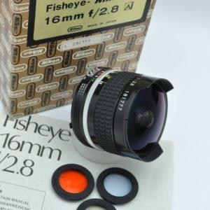 Nikon Nikkor 16mm 2.8 AI ein Vollformat-Fischauge in OVP